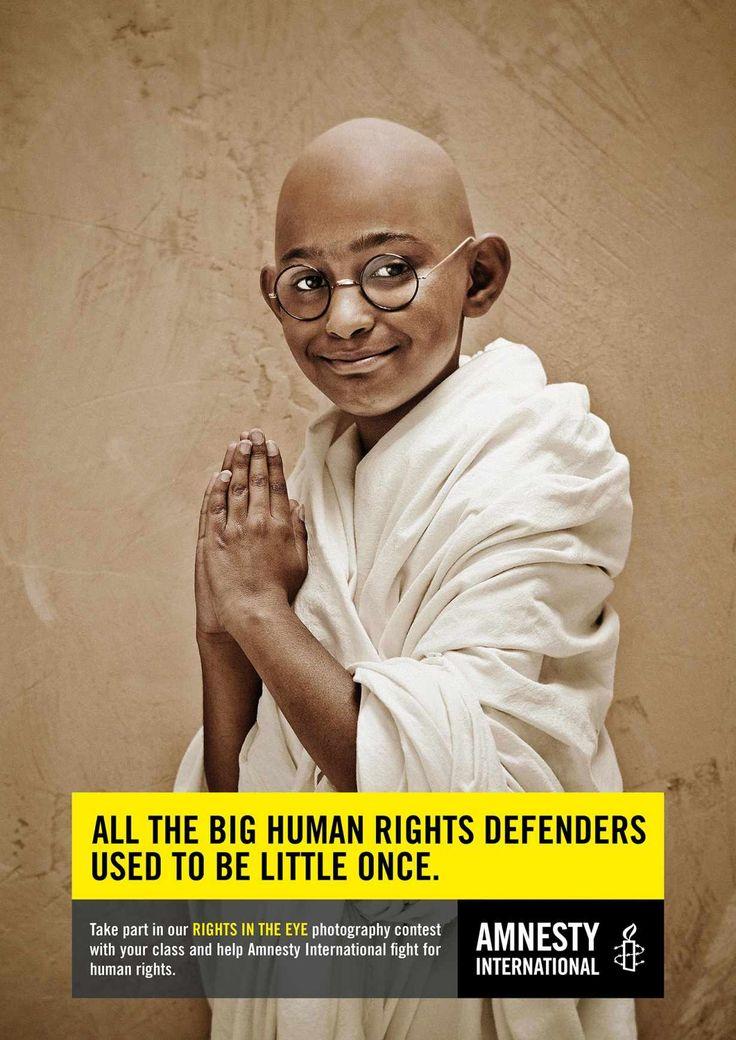 Amnesty International: Little Gandhi