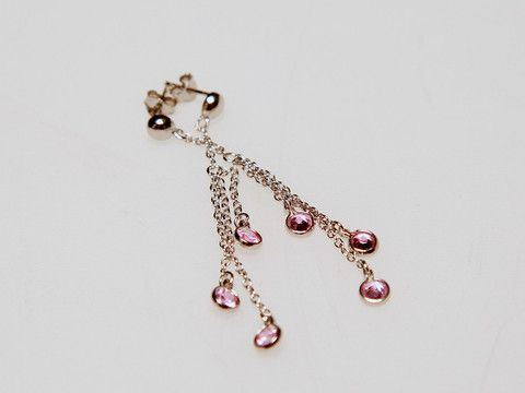 Pink Droplets Earrings: These nature inspired romantic earrings are sure to brighten up a casual look. $25.00