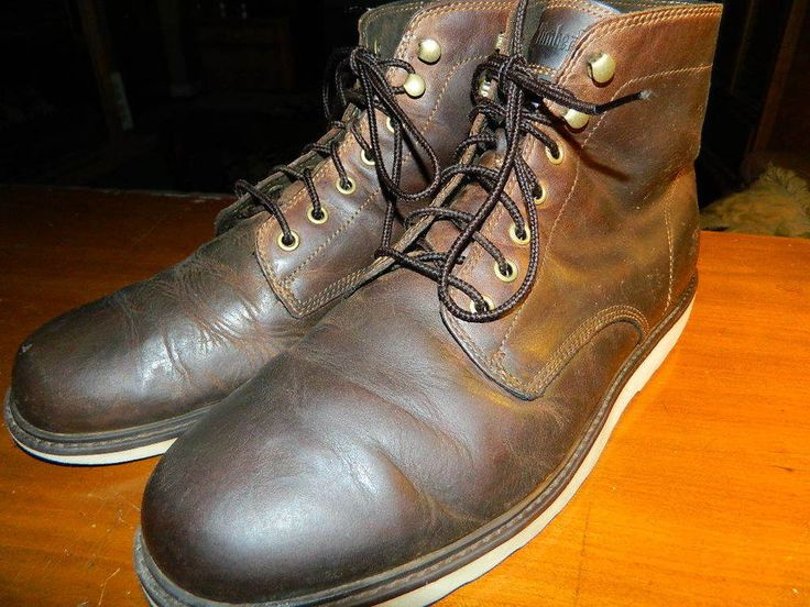 Vintage Timberland Earthkeepers Men's Premium Leather Boots, Size 12 #Timberland #AnkleBoots
