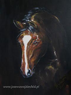 Pomysły plastyczne dla każdego DiY - Joanna Wajdenfeld: Obrazy konie