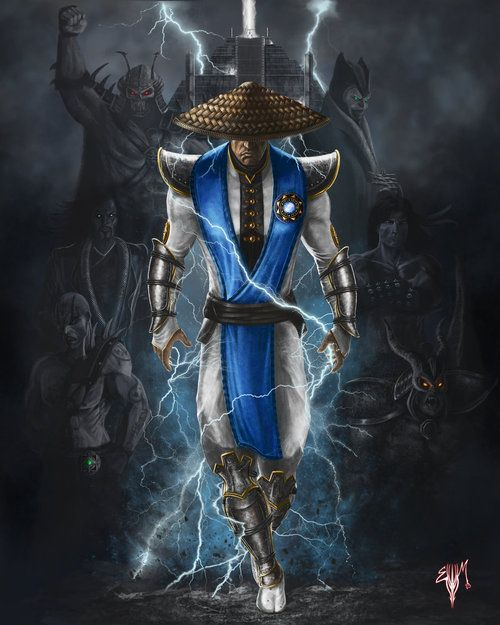 Mortal Kombat Legacy - Raiden Fan Art  Created by Esau Murga