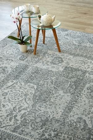Traditional Patchwork Grey: Locally designed and produced in KwaZulu Natal, this range of Airloom rugs is cl...