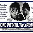 """The first interracial marriage movie ever made was called """"One Potato, Two Potato"""". It aired in 1964 in Black-and-White, and was directed by Larry Peerce. The stars of the show were Barbara Barrie and Bernie Hamilton. The plot of the movie: """"Julie Cullen a white young single woman meets a Frank Rich...The first interracial marriage movie ever made was called """"One Potato, Two Potato"""". It aired in 1964 in Black-and-White, and was directed by Larry Peerce. The stars of the show were Barbara…"""