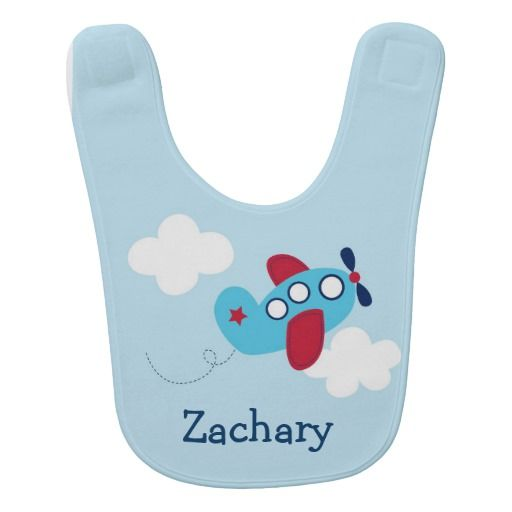 164 best personalized babys bibs images on pinterest bibs personalized baby bib airplane bib negle Choice Image