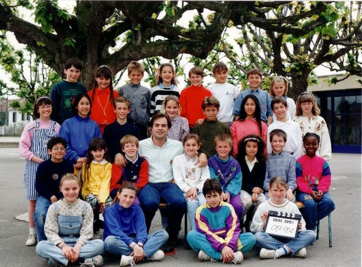 Photo de classe CM1-CM2 de 1991, ECOLE PAUL BERT