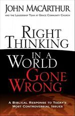 Right Thinking in a World Gone Wrong (Softcover)  http://www.gtycanada.org/products/books/451209/Right-Thinking-in-a-World-Gone-Wrong-Softcover