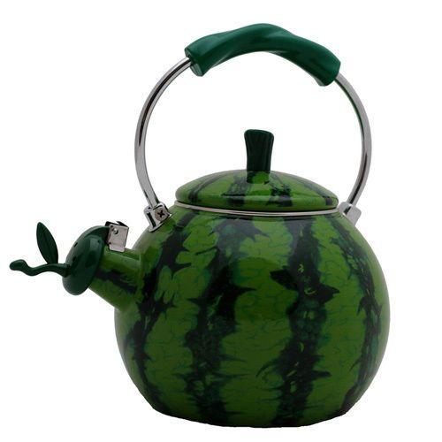 Wasserkessel Melone 2 Liter Wasserkocher Flötenkessel Teekessel