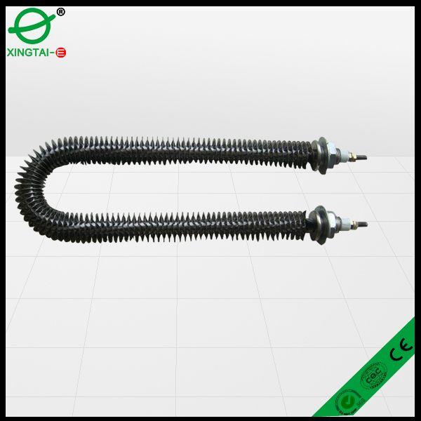 """U type round Finned tubular heating element, air tubular heater"""