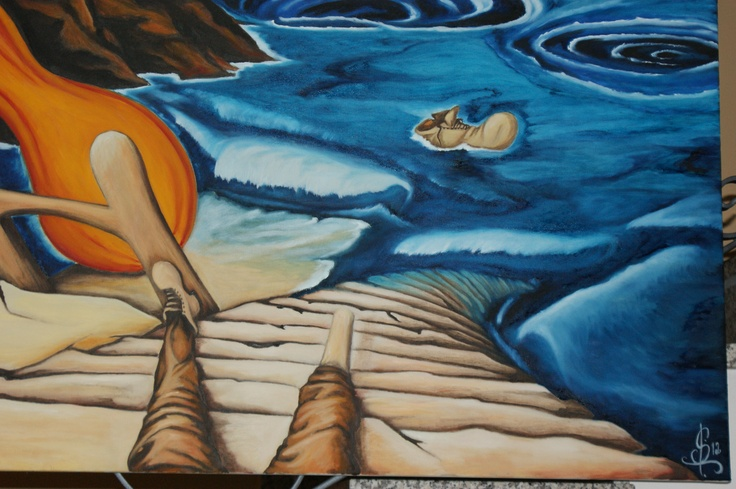 """""""The giant pumpkin""""   oil on canvas detail"""