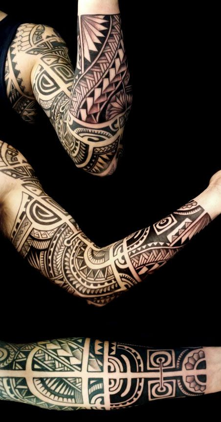 maori sleeve - Google Search                                                                                                                                                                                 Más