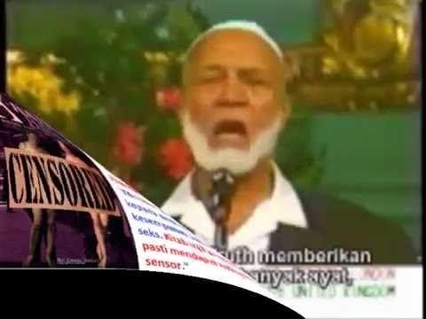 (1289) Hanya Karena Mencuplik Ayat PORNO Dalam Injil, Wanita Kristen Ini MENDAMPRAT Ahmed Deedat ! Kenapa ? - YouTube