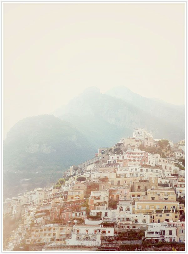 Positano, Italy...yes please x Bohemian dream destination wedding honeymoon location grace loves