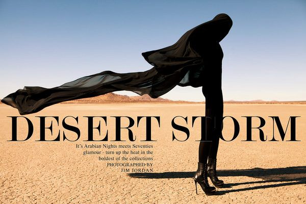DESERT STORM EDITORIAL by Jim Jordan, via Behance
