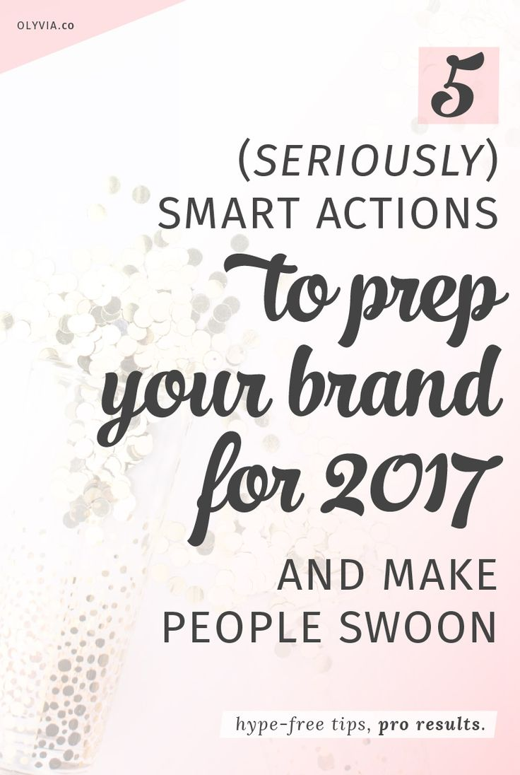 Prepare your brand for 2017 by taking these smart steps to improve your social media profiles, audit your website, deliver better customer service, and more!