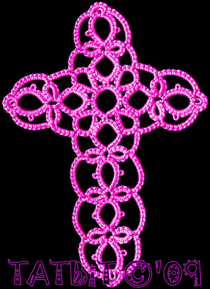 175 best tatting crosses images on Pinterest | Bookmarks, Book ...
