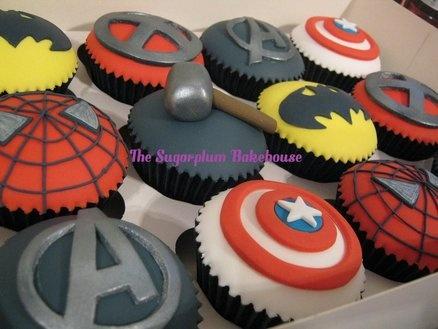 Marvel Dc Superhero Cupcakes Birthday Party Ideas
