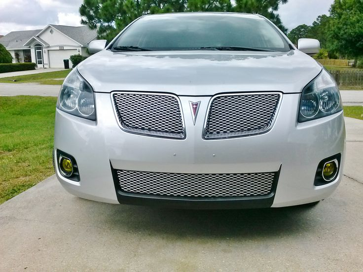 2009 Pontiac Vibe expanded aluminum grille overlays