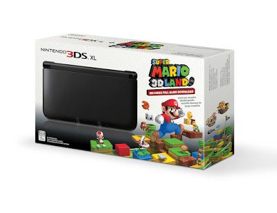 Electronics LCD Phone PlayStatyon: Black Nintendo 3DS XL with (Pre-installed) Super M...