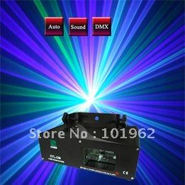 Moving head light Green+Violet Mixed Blue Laser light DMX SOUND AUTO DJ Disco Christamas Stage Lights