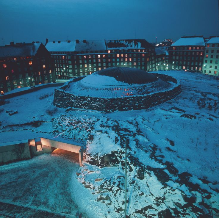 Temppeliaukio Church, ''church in a rock'', Helsinki, Finland | I once attended an English-language service here.