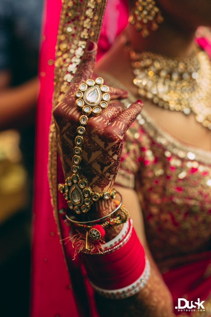 Priyanca + Atishay | Indian Wedding - Hand Jewellery and Bangles | Think Shaadi