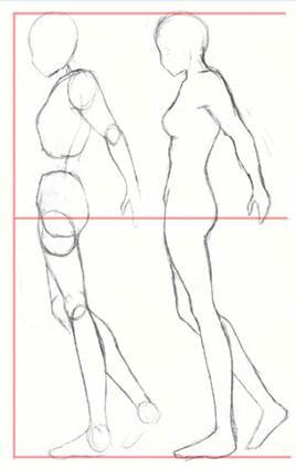 como dibujar el cuerpo anime - Buscar con Google