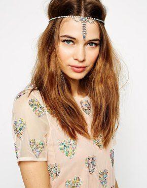 ASOS Flapper Jewel Drop Headband £10