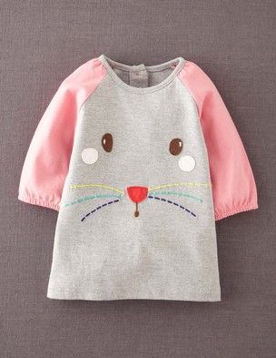 I've spotted this @BodenClothing Fun Appliqué Play Dress Grey Marl Mouse