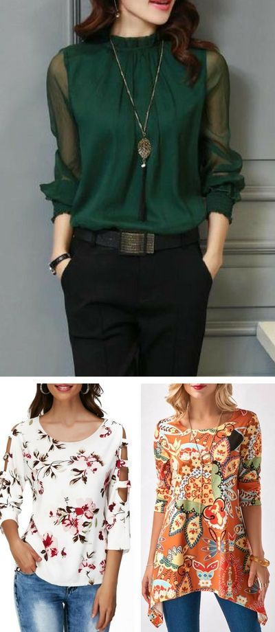 Cute tops for women at Rosewe.com. Following us...check them out.