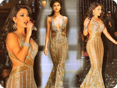 Haifa Wehbe in Zuhair Murad I absolutely love this dress, Gorgeous!