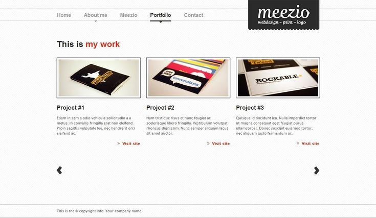 Meezio - a wordpress theme