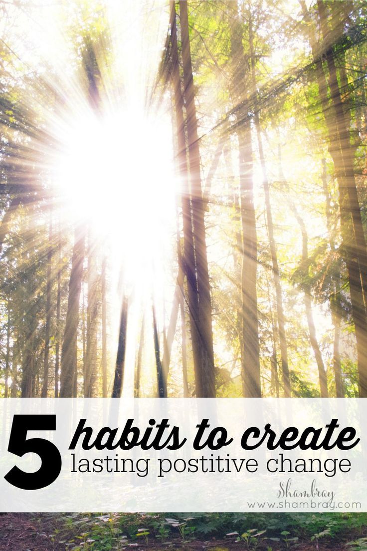 Do you want to be happier? Do you need more confidence? Do you want more structure in your life? Check out these 5 habits to achieve your goals!