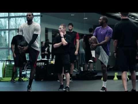 Nike Basketball Pro Training Camp Part 2: Physical Training - YouTube