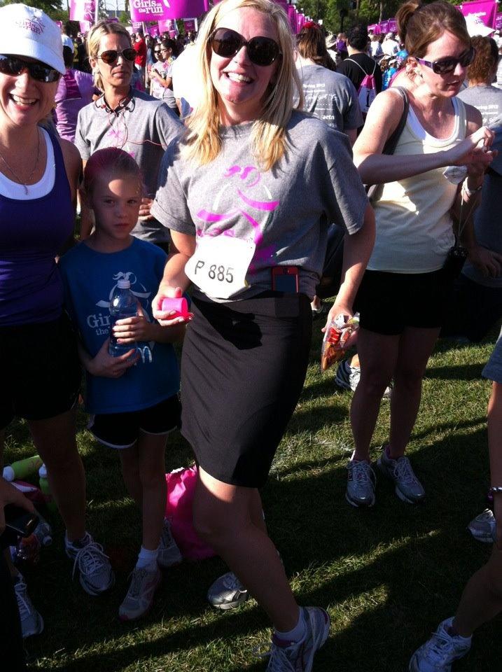 "Smashing's ""Kate"" skort spotted at Chicago's Girl's on the Run 5K.: Chicago Girls, Girls Generation"