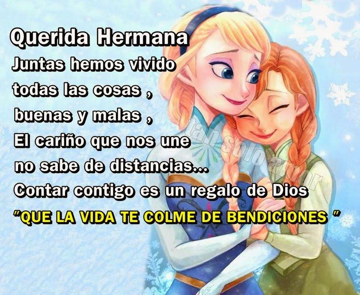 solo amor: DIOS ME DIO UNA HERMANA.. !!