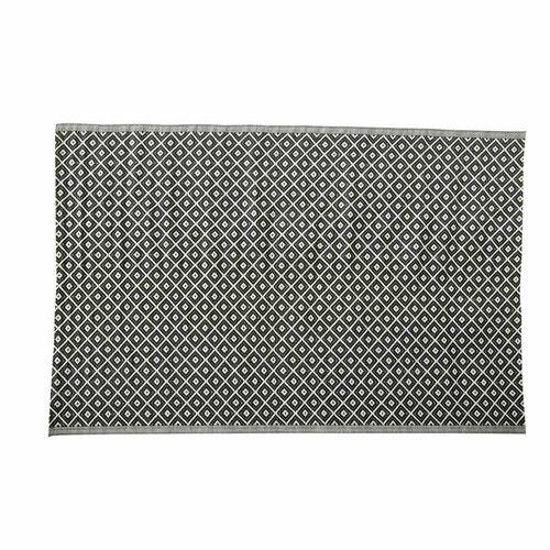 Tappeto bianco e nero da esterno in polipropilene 180 x 270 cm KAMARI