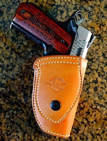 Jeffrey Custom Leather holsters, concealed carry holsters, concealment holsters