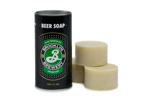 Beer soap made with Brooklyn beers. Cool, right? #Mensgrooming #Monobiman #Soap