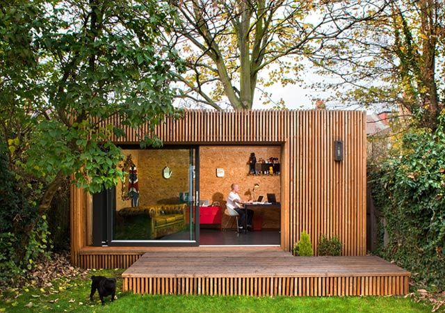Contemporary Garden Studios | Eco Outdoor Studios - Ecospace Studios