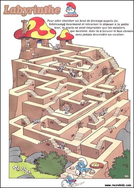 25 best ideas about labyrinthe imprimer on pinterest labyrinthe jeu jeux du labyrinthe and. Black Bedroom Furniture Sets. Home Design Ideas