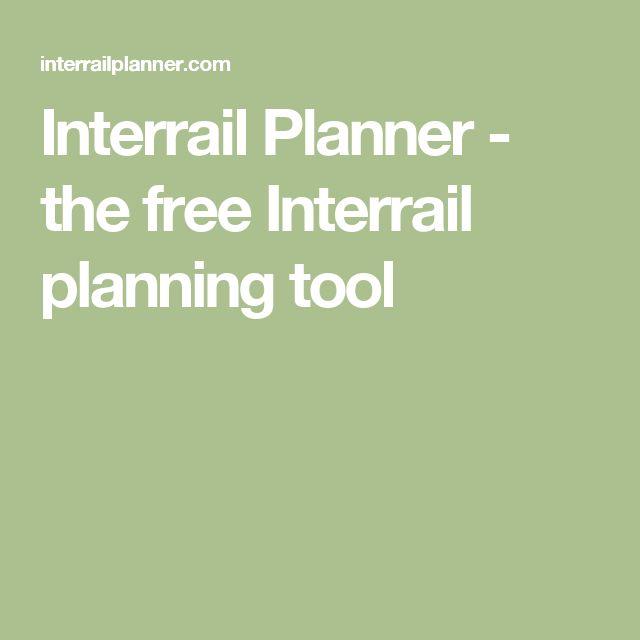 Interrail Planner - the free Interrail planning tool