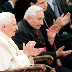 Joseph and Georg Ratzinger