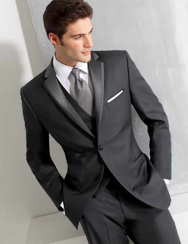 Prom Suit For Men Cheap Groom Suit 2016 Groom Tuxedos Two Button Wedding Suits For Men Best Man Suit Prom Suits Jacket+Pants+Tie+Vest Rental Tuxedos For Prom From Mensuits, $67.24| Dhgate.Com