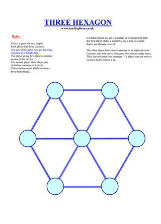 Three Hexagon
