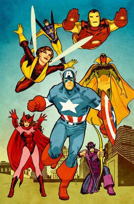 The Avengers by Cliff Chiang