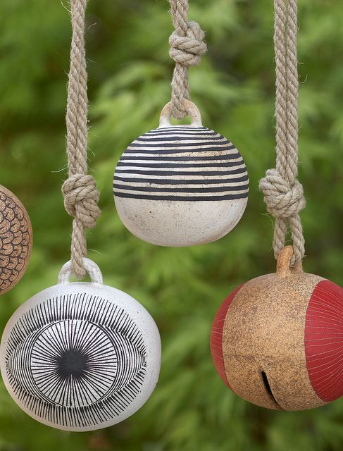 17 Best 1000 images about Ceramic Wind Chimes Garden Bells on