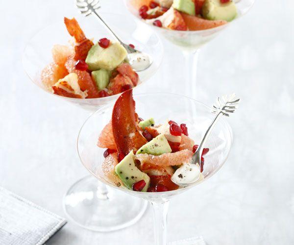 1000 id es sur le th me salade de homard sur pinterest for Entree estivale