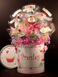 lollipop display, very cute