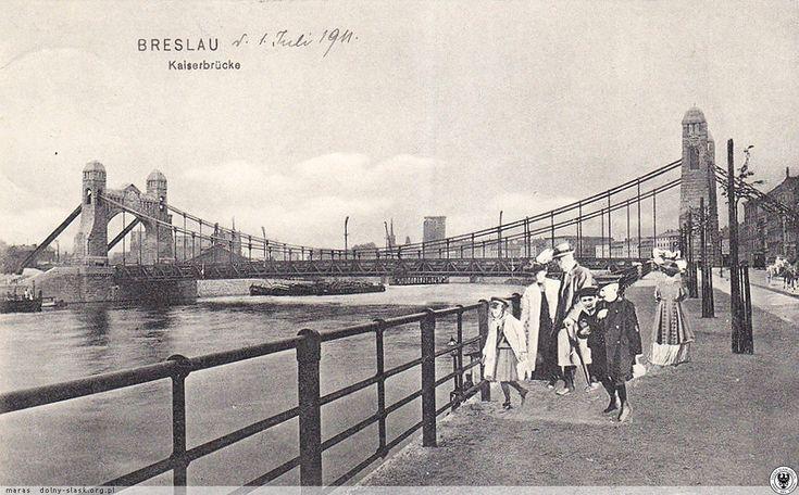 Most Grunwaldzki, 1911