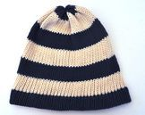 Navy knitted hat